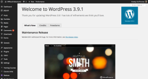 wordpress install success, wordpress quick install