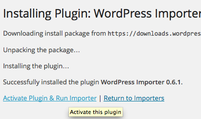 wordpress.com migration to wordpress.org