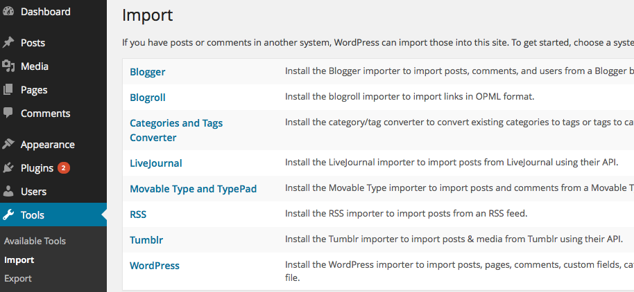 blogger to wordpress migrate, migrate blogger to wordpress